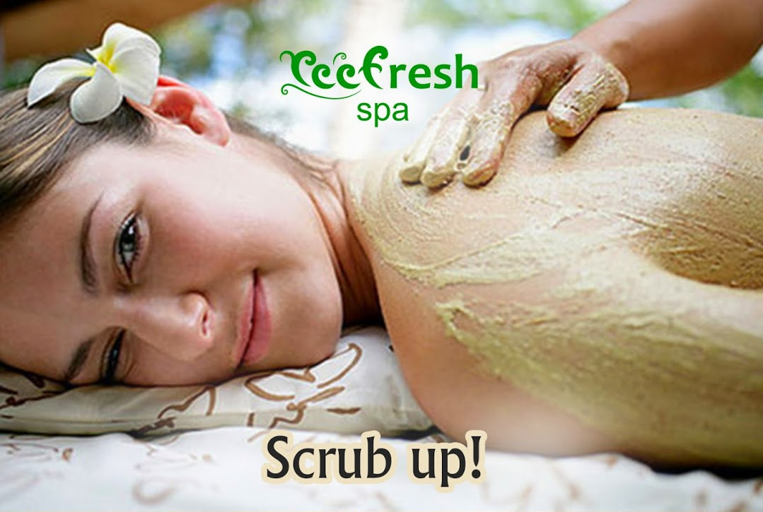 The Perfect Scrubs and Body Glows Using Natural Ingredients @ Reef Villa & Spa.